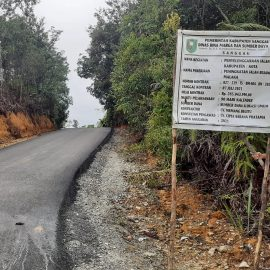 Dinas BMSDA Kabupaten Sanggau telah menyelesaikan penanganan beberapa ruas jajan dalam kota Sanggau